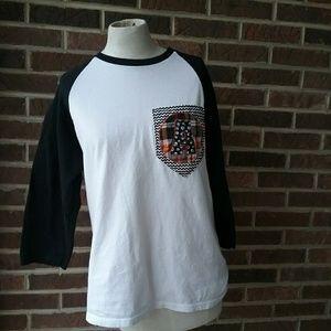 """Baseball Monogrammed """"A"""" T Shirt"""